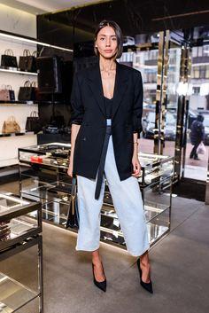 Уроки стиля Юлии Пелипас в бутике Saint Laurent (фото 2)