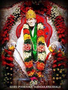 """Guru Poornima Shubhakankshalu""  ❤️ ❤️OM SAI RAM❤️ ❤️  Please share; FB: www.fb.com/ShirdiSBSS Twitter: https://twitter.com/shirdisbss Blog: http://ssbshraddhasaburi.blogspot.com  G+: https://plus.google.com/100079055901849941375/posts Pinterest: www.pinterest.com/shirdisaibaba"