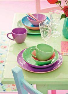 Verde y violeta Complementarios