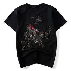 8910f9c68c7 The Kirin Embroidered Sukajan T-shirt