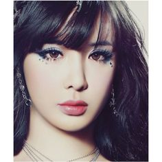 2ne1 Minzy, Aestheticly Pleasing, Lisa, Asian Makeup, Absolutely Gorgeous, Beautiful, Girl Group, Make Up, Polyvore