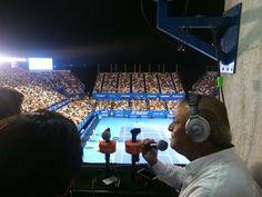 Pablo Carrillo y Juan Carlos Veraza desde Acapulco en el marco del Abierto Mexicano de Tenis