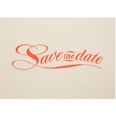 Save the Date Invitations ($22) ❤ liked on Polyvore featuring home, home decor, red home decor and retro home decor