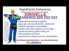 Fontaneros XIRIVELLA 603 932 932 Baratos