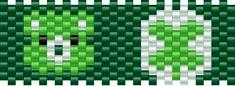 good luck bear bead pattern