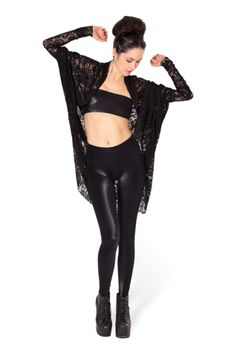 Lace Shrug - LIMITED › Black Milk Clothing