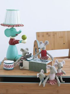 So adorable Maileg Mice (:  Also available at Silly DIlly