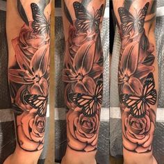 Arm Sleeve Tattoos For Women, Dope Tattoos For Women, Neck Tattoos Women, Black Girls With Tattoos, Half Sleeve Tattoos Designs, Full Sleeve Tattoos, Forarm Tattoos, Mom Tattoos, Body Art Tattoos