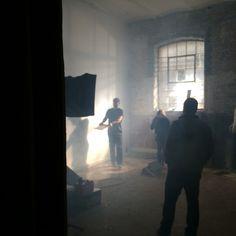 Music video location shoot in Hackney