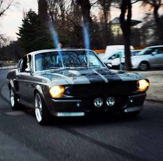 Ford Mustang Eleanor #muscle #car