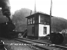 Iaeger, West Virginia Signal Tower