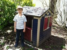 Reader Project Update: How Does Paint Hold Up On Plastic Playhouses? | Apartment Therapy