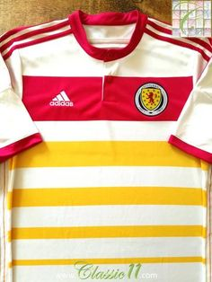 4060d337ade 2014/15 Scotland Away Football Shirt / Classic Soccer Jersey   Classic  Football Shirts