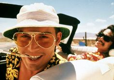 Movie Sunglasses 8 - Raoul Duke (Johnny Depp), Fear and Loathing in Las Vegas Johnny Depp, Groove Theory, Hunter S Thompson, Fear And Loathing, Cult, Film Inspiration, Dark Photography, Movie Characters, Movie Tv
