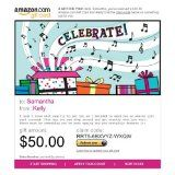 Amazon.com Gift Cards - E-mail Delivery (Ecard Gift Certificate)By Amazon