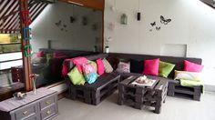 I Love My Home ♥: Hagemøbler laget av europaller