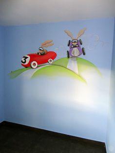 murales pintados de coches