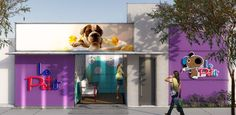 fachadas de pet shop - Pesquisa Google