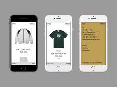 Concept Online Shop by BBB Studio