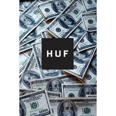 HUF $100  cash  swag  dope  tumblr  Flickr Photo Sharing