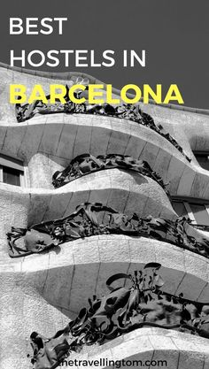 The best hostels in Barcelona! If you want to know where to stay in Barcelona during your trip, this is the guide for you. There are plenty of hostels in Barcelona, so it can be tough to separate the good from the bad. My guide lets you know the best cheap accommodation in Barcelona, suitable for every type of traveller!  places to stay in Barcelona | accommodation in Barcelona | Barcelona hostels | hostel in Barcelona | cheap hostels in Barcelona #Barcelona #Hostels