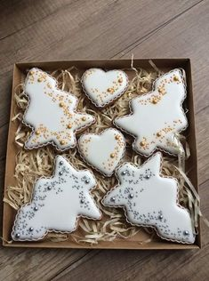 Snowflake Christmas Cookies, Christmas Sugar Cookies, Christmas Sweets, Christmas Cooking, Holiday Cookies, Gingerbread Cookies, No Bake Sugar Cookies, Fancy Cookies, Iced Cookies
