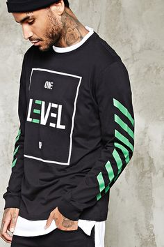 One Level Up Graphic Jumper - that should be mine!