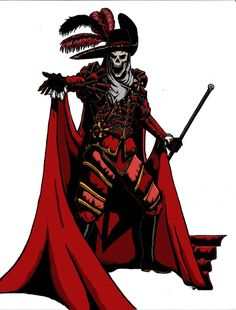 The Phantom's Red Death by DecoNoir on @DeviantArt