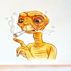 Trippy Cartoon, Cartoon Pics, Alien Drawings, Art Drawings, Betty Boop Tattoos, Hippy Room, Stone Wallpaper, Stoner Art, Vito