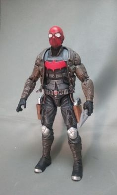 how to make a red hood action figure