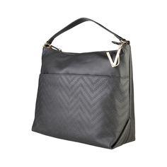Versace Jeans, Pocket, Zip, Shoulder Bags, Fabric, Leather, Handle, Logo, Interior