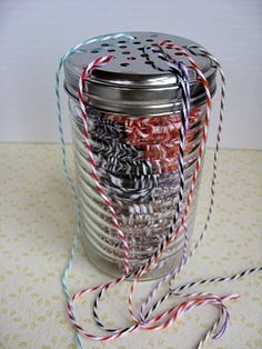 Store and Use Bakers Twine