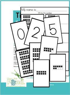 Tiny Ten Frames - Math Centre Game