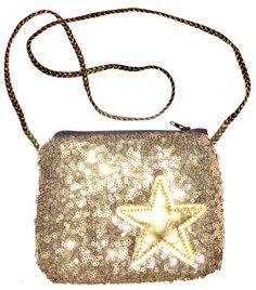 Sparkle me Sally sequin messenger bag