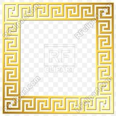 Download – Square frame with golden Greek ornament Vector Artwork – Vector Graphics © volhakavalenkava #186762 Drawing Room Ceiling Design, Photoshop Shapes, Cnc Cutting Design, Paint Icon, Smoke Pictures, Badge Template, Versace Logo, Skull Wallpaper, Clipart Design