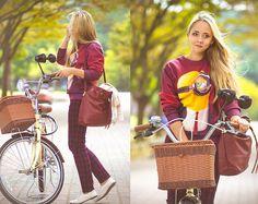 Olga C. - Fall casual check