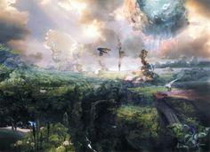 fantasy landscape art - Google Search