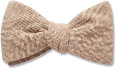 Hipster Twill Bow Tie from Beau Ties