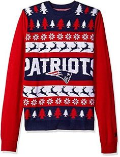 675e0ae0e New England Patriots One Too Many Ugly Sweater Large –  Videos.Images.Pictures New