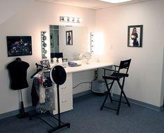 Makeup Room.