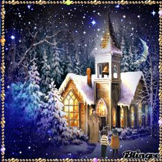 Christmas Clipart, Christmas Pictures, Winter Pictures, Cool Pictures, Kitsch, Christmas Time, Vintage Christmas, Animation, Rainbow Bridge