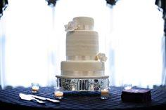 Nashville Garden Wedding Venue | CJ's Off the Square | Magnolia Wedding Cakes - Photo: The Photographix