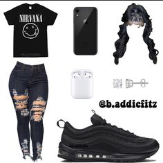 Baddie Outfits Casual, Boujee Outfits, Swag Outfits For Girls, Cute Swag Outfits, Teenage Girl Outfits, Cute Comfy Outfits, Teen Fashion Outfits, Dope Outfits, Preteen Fashion