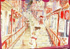 Spirited Away   Hayao Miyazaki   Studio Ghibli / Ogino Chihiro / 「ジブリ詰め」/「MASSO」の漫画 [pixiv] [06]
