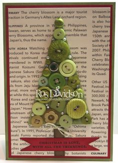 by Ros Davidson - the tree part would make a cute ornament