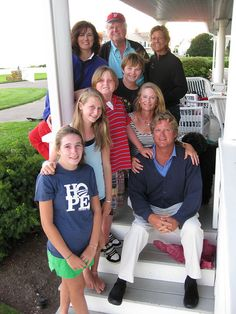 Senator Kennedy, Vicki Kennedy, Kara Kennedy, Ted Kennedy Jr., Kiki Kennedy and family