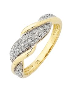 Diamond Ring - Yellow Gold Diamond Ring - 754202 – Salera's Jewellmasters