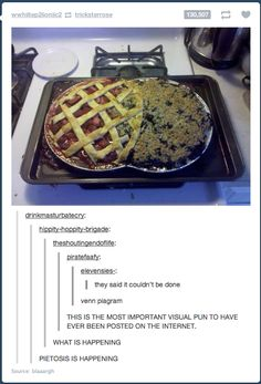 """Pietosis"" Bahahahaha.  From Blaaargh on Imgur.  Want to try this with Apple & Strawberry Rhubarb!"