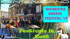 Rochester Sweeps Festival Filmed on the Sunday The Rochester Sweeps Festival is a colourful mix of music, dancing and entertainment with more . Festivals, Times Square, Tourism, 18th, Places To Visit, England, Entertainment, Travel, Turismo