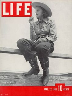 Life magazine cover from 1940 via the LIFE images archive